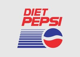 Pepsi logo on a transparent background