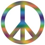 illustration of the Peace Sign