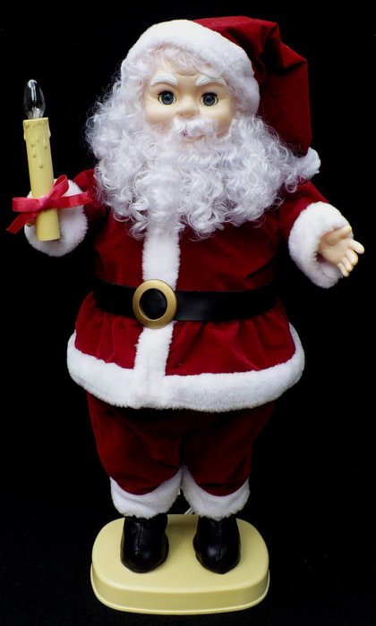 Animated Santa Claus as a picture for clipart