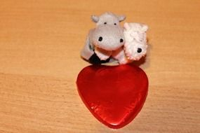 soft toys with love