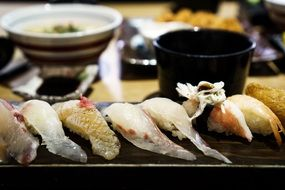 sushi fish sashimi food seafood japanese menu