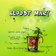 picture of bloody mary cocktail recipe