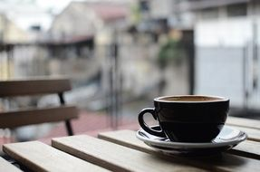 cup of coffee outdoor