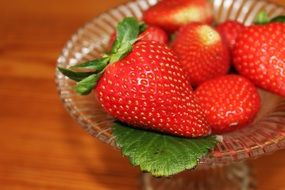 strawberries fruit bowl