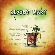 Bloody Mary alcohol drink recipe