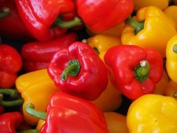 sweet peppers, paprika, red ,healthy,vegetables
