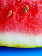 pulp of watermelon with stones