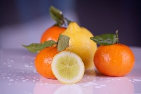 fruits clementines