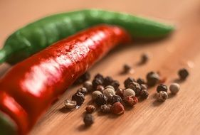 food pepper spices