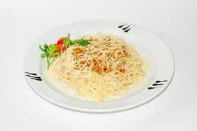 Photo of pasta with Vegetables