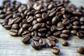 aroma brown coffee beans