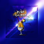 recipe of the alcoholic drink Pina Colada