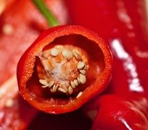 eco-friendly red pepper