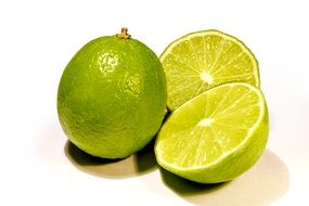 lime in a cut