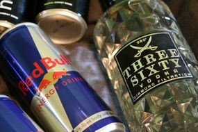 alcohol red bull energy drink vodka
