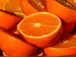 delightful orange fruit vitamins