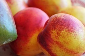 nectarine is a sweet vitamin fruit