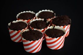 muffins cocoa cupcakes sweet