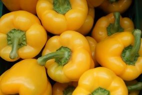 yellow paprika vegetable food