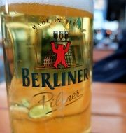 light beer in a glass in Berlin