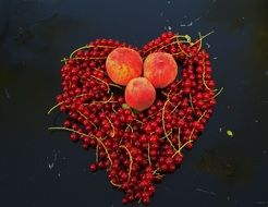 red currant and ripe berry
