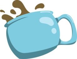 clipart of the cup of the coffee