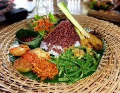 dish of indonesian cuisine