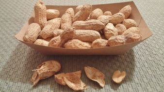 nuts as a healthy snack