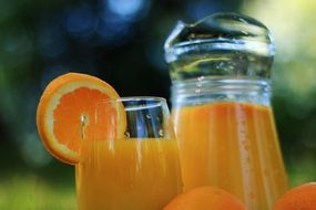 fresh orange juice vitamin c