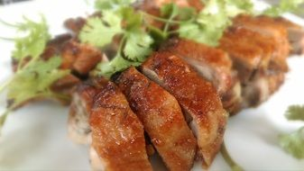 roasted duck, vietnamese cuisine