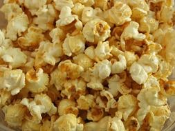 popcorn like fast food for a cinema