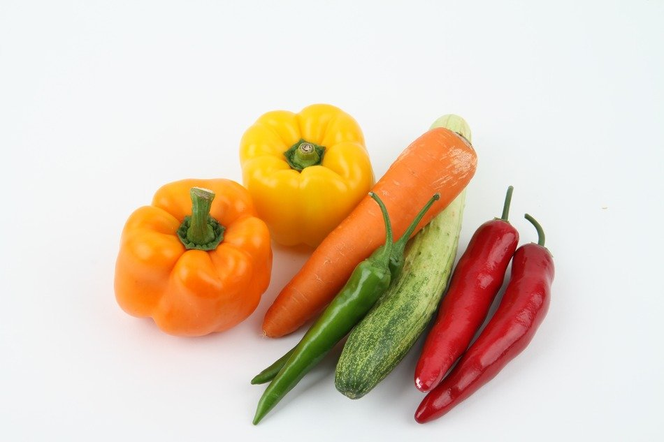 Photo of isolated Vegetables