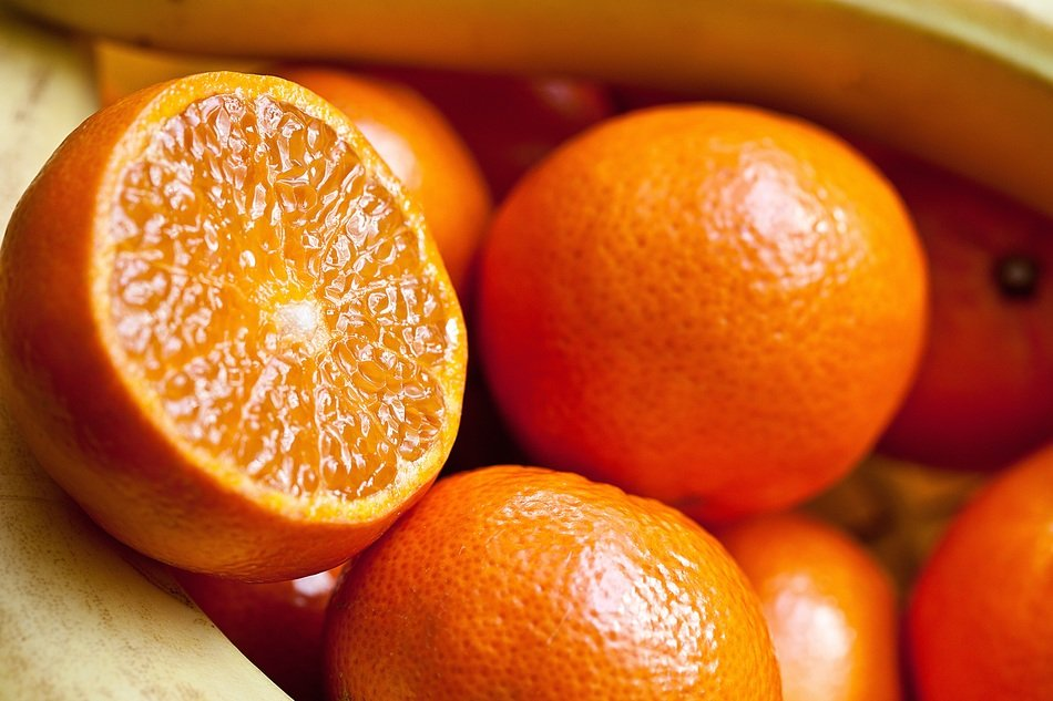orange fresh fruit healthy and vitamin fruits