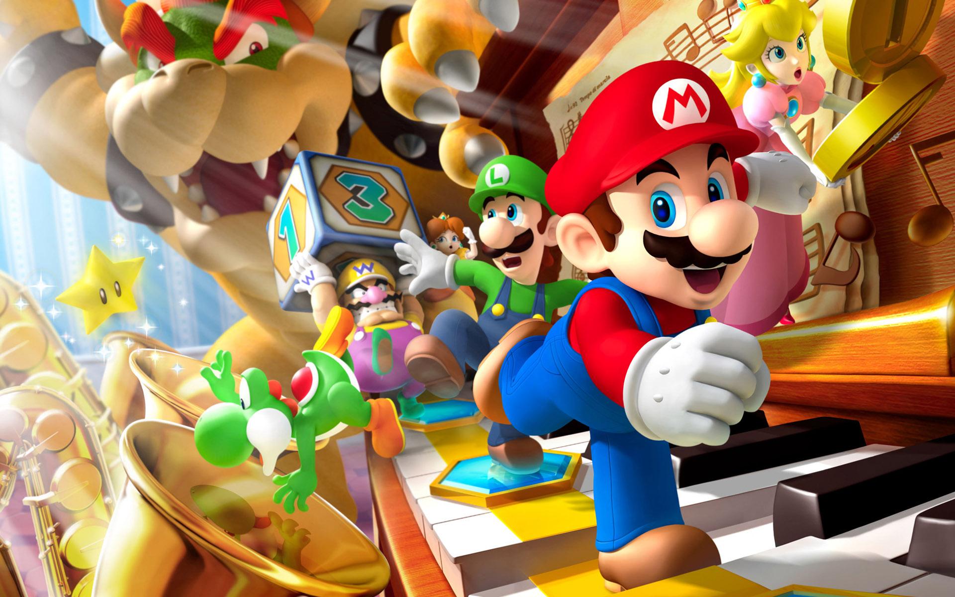 Super Mario Bros clipart free image