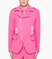 pink suit for a man as a picture for a clip art