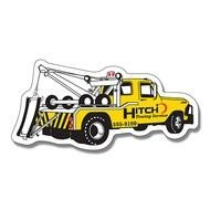 Tow Truck Logo drawing
