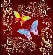 Butterfly Graphics clip art drawing