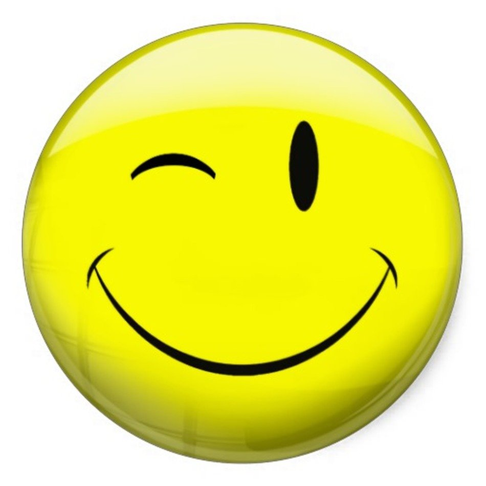 Winking Smiley Face N17 free image