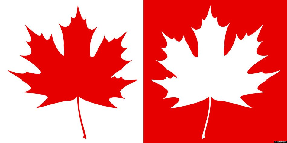Canadian Maple Leaf Clip Art drawing