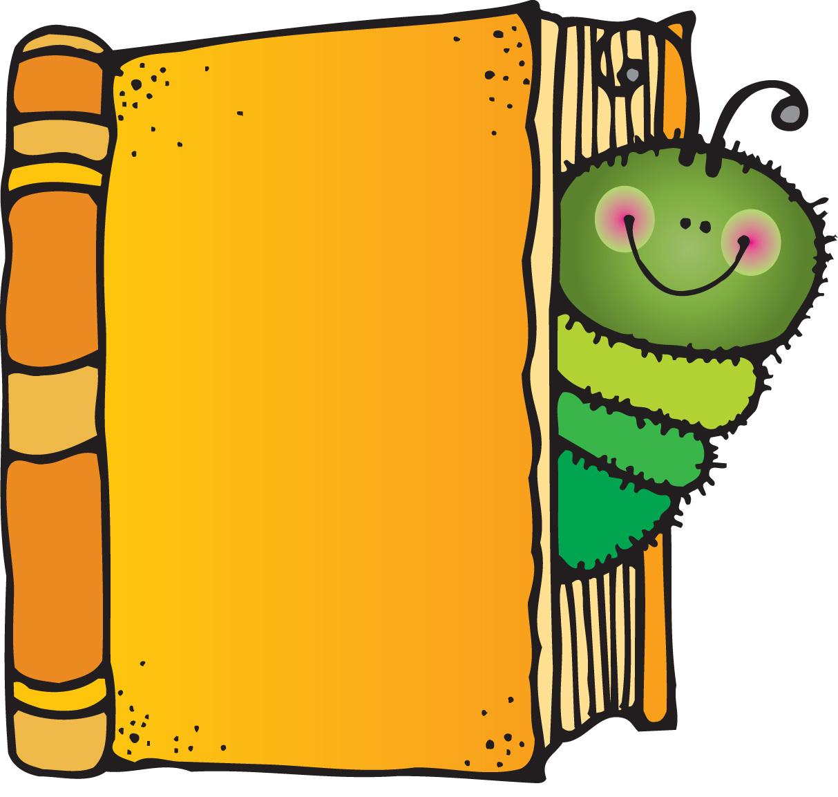 open book cartoon