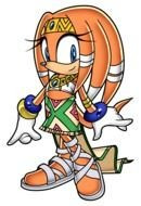 Tikal the Echidna, Sonic Character, drawing