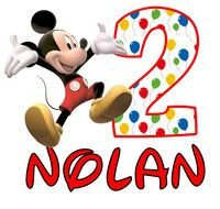 Happy Birthday Mickey Mouse nolan drawing