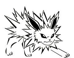 Pokemon Jolteon Coloring Pages Images At Pixy Org
