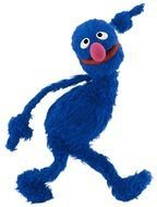 funny blue monster grover