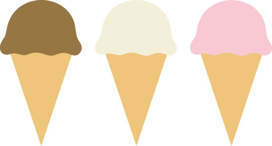 Three IceCream clipart