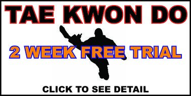 Tae Kwon Do 2 Week Free Trial Clipart