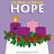 Happy First Week Of Advent Saints N2