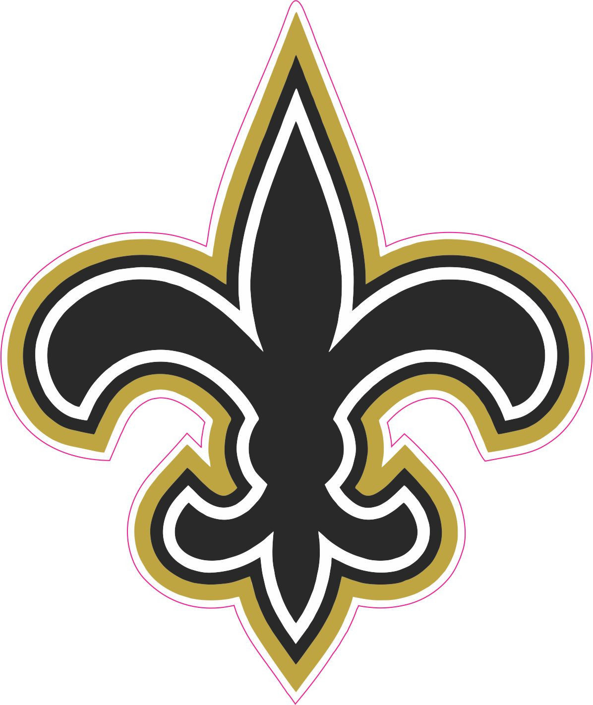New Orleans Saints Fleur De Lis N8 Free Image