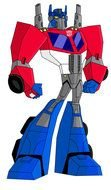 Transformer Animated as a graphic illustration