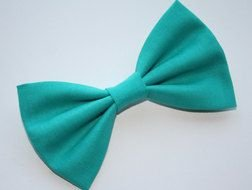 Teal Bow Tie drawing